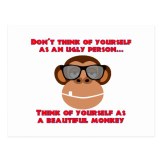 Beautiful Monkey Postcard
