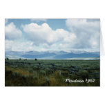 Beautiful Montana Landscape Greeting Card