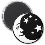 BEAUTIFUL_moon_and_stars1 Refrigerator Magnets