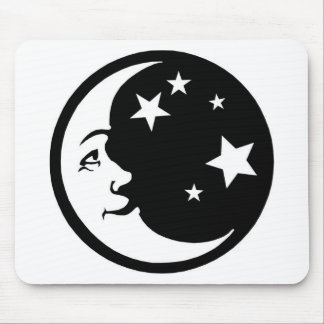 BEAUTIFUL_moon_and_stars1 Tapetes De Ratón