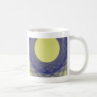 beautiful moon light shine blue color coffee mug