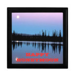 Beautiful Moon Over Water Gift Box