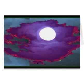 Beautiful   Moonlight  Sky Card
