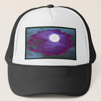 Beautiful   Moonlight  Sky Trucker Hat