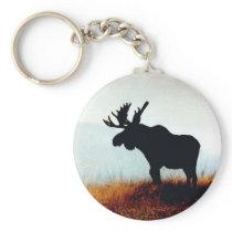 Beautiful Moose Keychain