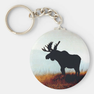 Beautiful Moose Keychain