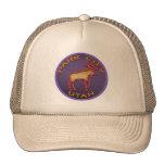 Beautiful Moose Medallion Park City Souvenir Trucker Hat