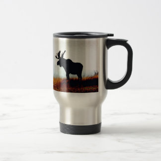 Beautiful Moose Travel Mug