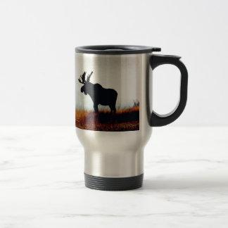 Beautiful Moose Travel Mug