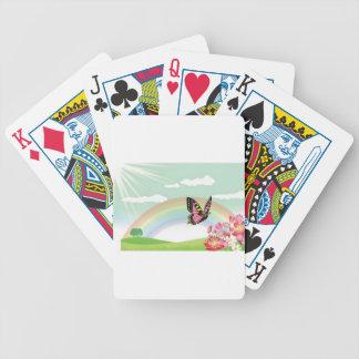 Beautiful morning poker cards