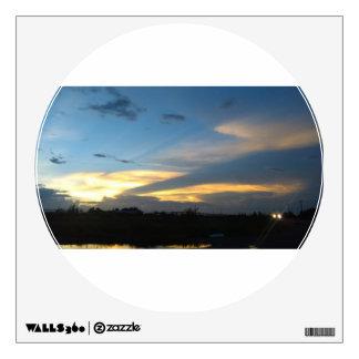beautiful morning skies wall sticker