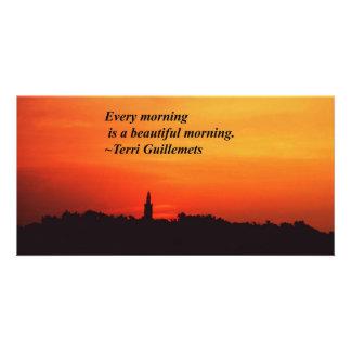 Beautiful Mornings Card