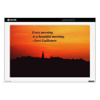 Beautiful Mornings Laptop Skins