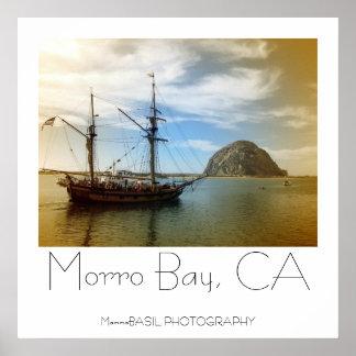 Beautiful Morro Bay Poster! Poster