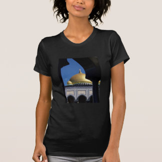 Beautiful Mosque With Gold Plated Dome T Shirts