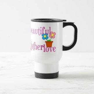 Beautiful Mother Love Flowers Drink Mug