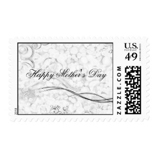 Beautiful Mother's Day Frills Postage Stamp