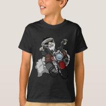 Beautiful motorcyclist T-Shirt