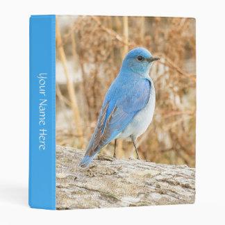 Beautiful Mountain Bluebird Mini Binder