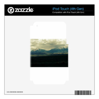 Beautiful Mountain in Rockies iPod Touch 4G Decal