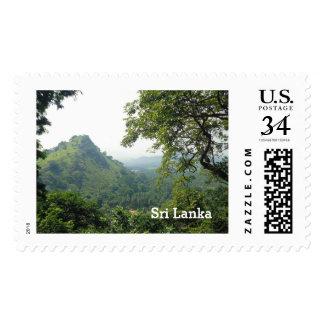 Beautiful Mountain Landscape on Sri Lanka| Journey Postage