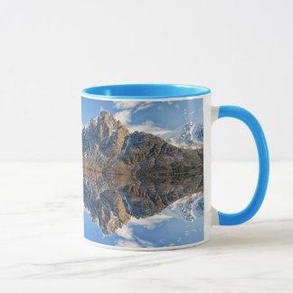 Beautiful Mountain & Ocean Scene Coffee Mug