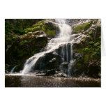 Beautiful Mountain Waterfall Greeting Card