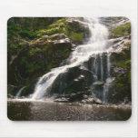 Beautiful Mountain Waterfall Mouse Pad