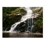 Beautiful Mountain Waterfall Postcard