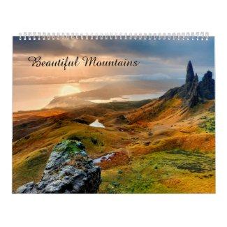 Beautiful Mountains Calendar