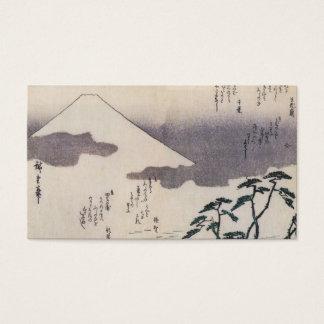 Beautiful Mt. Fuji in Japan, circa 1800s Business Card