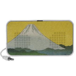 Beautiful Mt. Fuji in Japan, circa 1800s iPhone Speaker