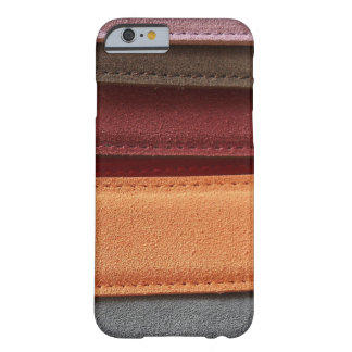 Beautiful Multicolored Leather Belt Pattern Barely There iPhone 6 Case