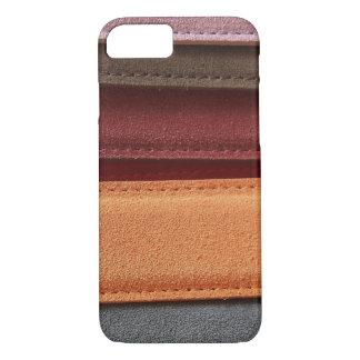 Beautiful Multicolored Leather Belt Pattern iPhone 7 Case