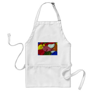 Beautiful Multicolored, uninflated party balloons Apron