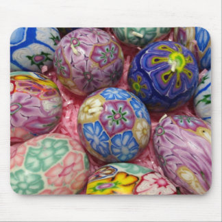 Beautiful multicolored wax Ukranian Eggs Mouse Pad