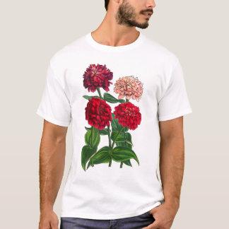 Beautiful Multicolored Zinnias Gardener's T-Shirt