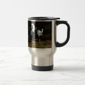 Beautiful Muscovy Drakelet 15 Oz Stainless Steel Travel Mug