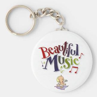 Beautiful Music! Keychain