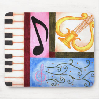 Beautiful Music Mouse Pad
