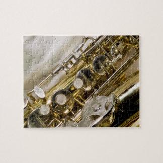 Beautiful Music--Saxophone Jigsaw Puzzles