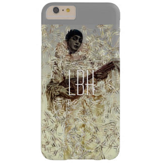 Beautiful Musician with Custom Monogram Barely There iPhone 6 Plus Case