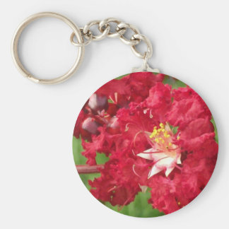 Beautiful Myrtle Abstract Basic Round Button Keychain