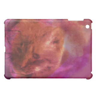 Beautiful Mysterious Orange Cat iPad Mini Case