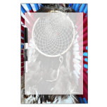 Beautiful Native American Dream Catcher Red Blue Dry-Erase Whiteboards