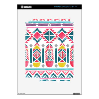 Beautiful Native American Geometric Pattern iPad 3 Decal