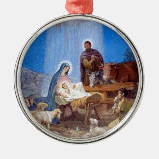 Beautiful Nativity Scene Ornaments