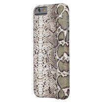 Beautiful Natural Snake Skin Print Barely There iPhone 6 Case