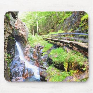 Beautiful Natural Waterfall Scenery NH Mousepad