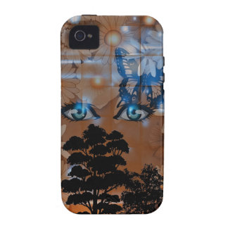 Beautiful Nature Girl iPhone 4 Cover